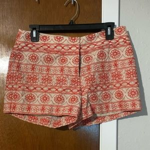 LOFT embroidered Shorts EUC